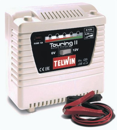 CARICABATTERIA TELWIN TOURING 11 6-12 V