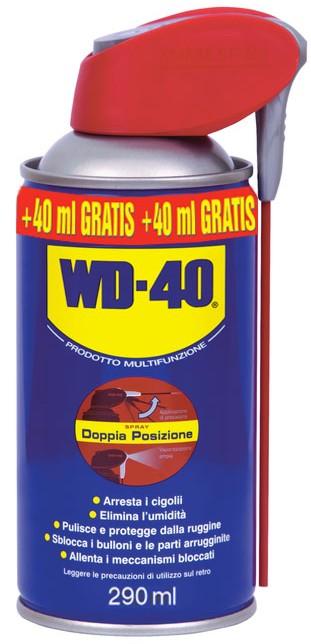 LUBRIFICANTE WD-40 SPRAY DOPPIA POSIZIONE ML 250